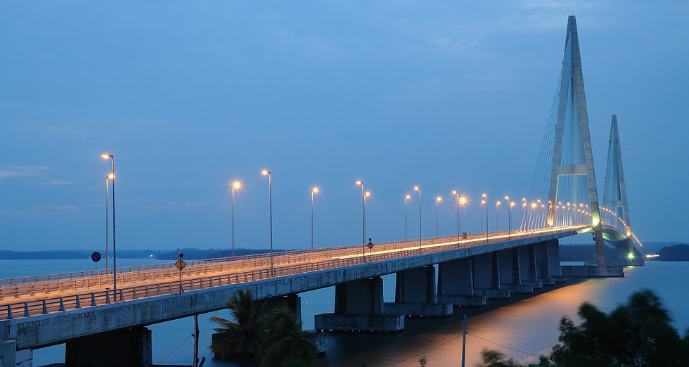 1 Mega structure of 1.7km Sungai Johor B