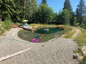 A natural pool in BC - better in every way