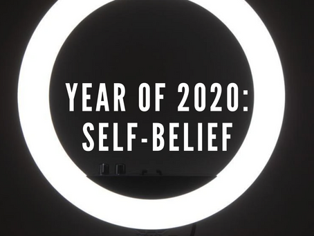 Year of 2020: Self-Belief