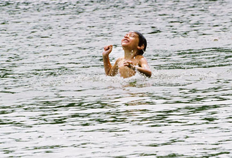 Anthony Vermont Lake July 07