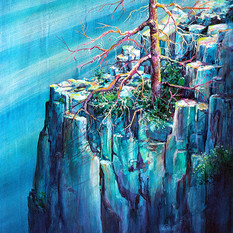 Blue Cliff Tree