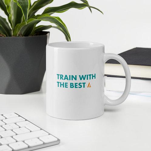 """Train With The Best"" Mug"