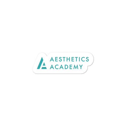 """Aesthetics Academy"" Sticker"