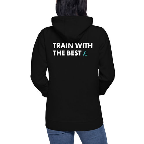 """""""Train With The Best"""" Hoodie"""