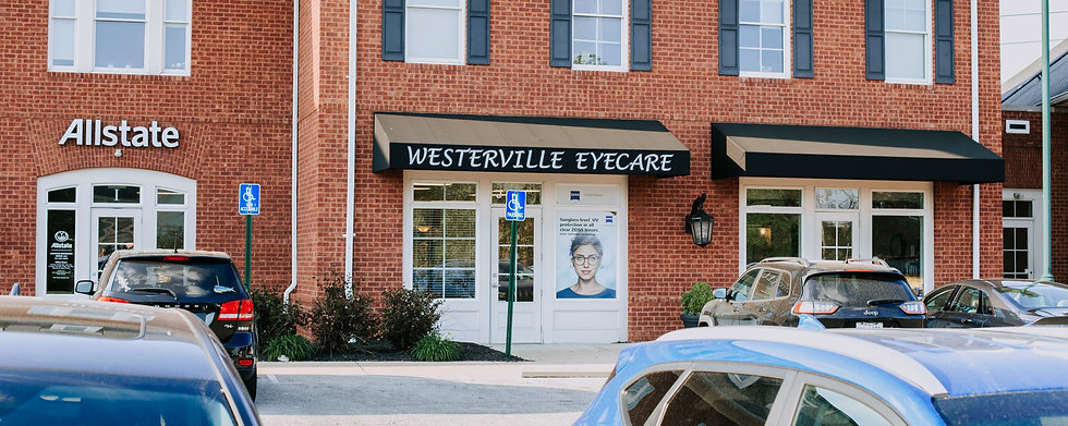 Westerville Eyecare location and contact background