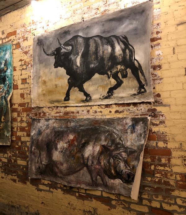 Bull & Piggie