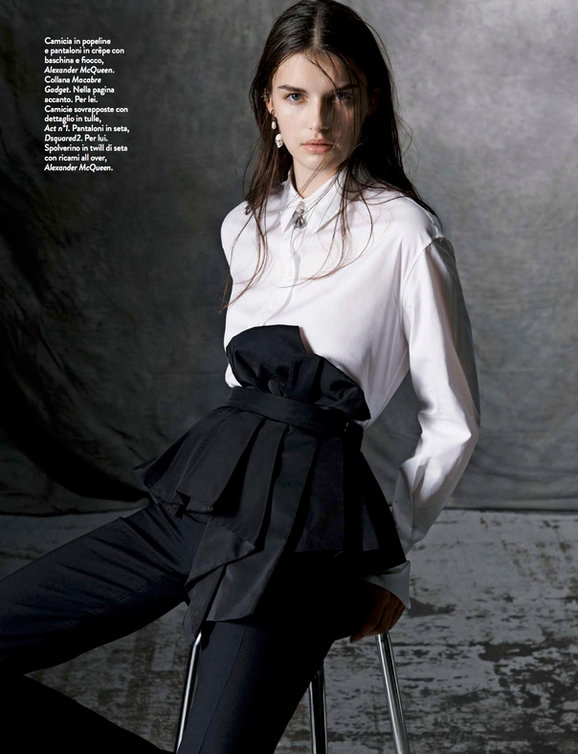 Eloïse Longa in the latest AMICA Magazine