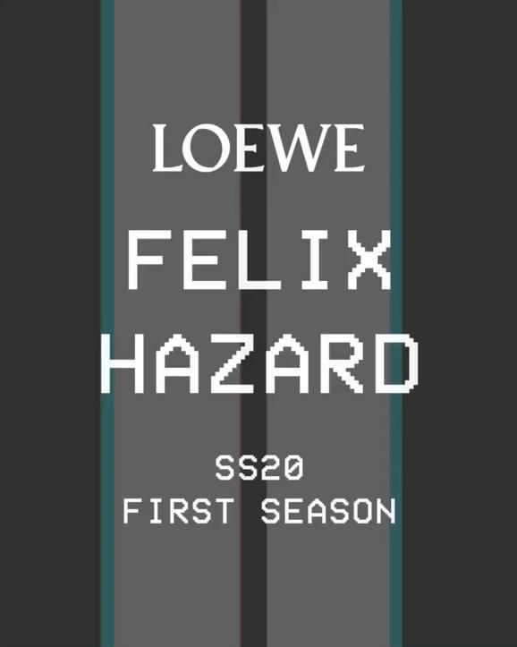 FELIX HAZARD FOR LOEWE SS20