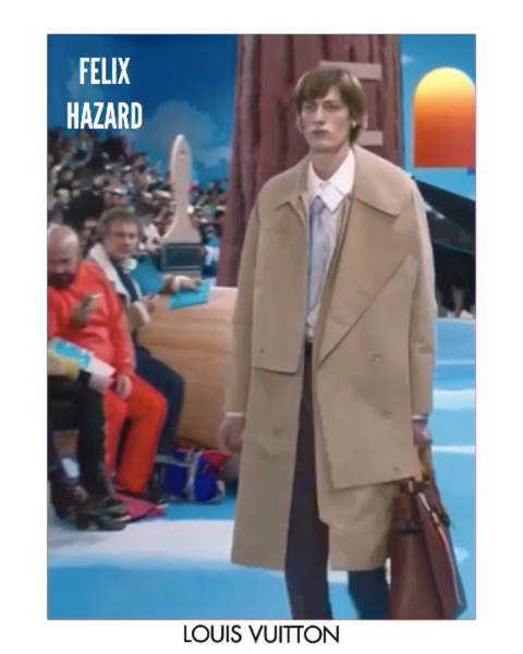 FELIX HAZARD FOR LOUIS VUITTON F/W20