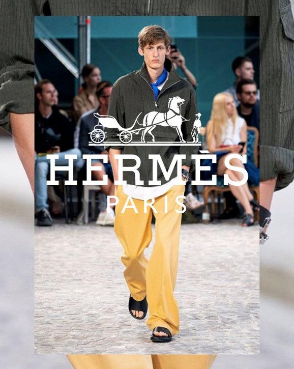 FELIX HAZARD FOR HERMÈS SS20