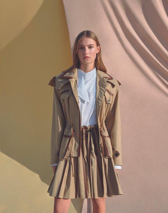 Clara D for Harper's Bazaar Greece