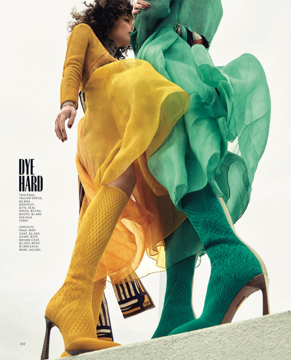 Alicia Herbeth for Marie Claire US