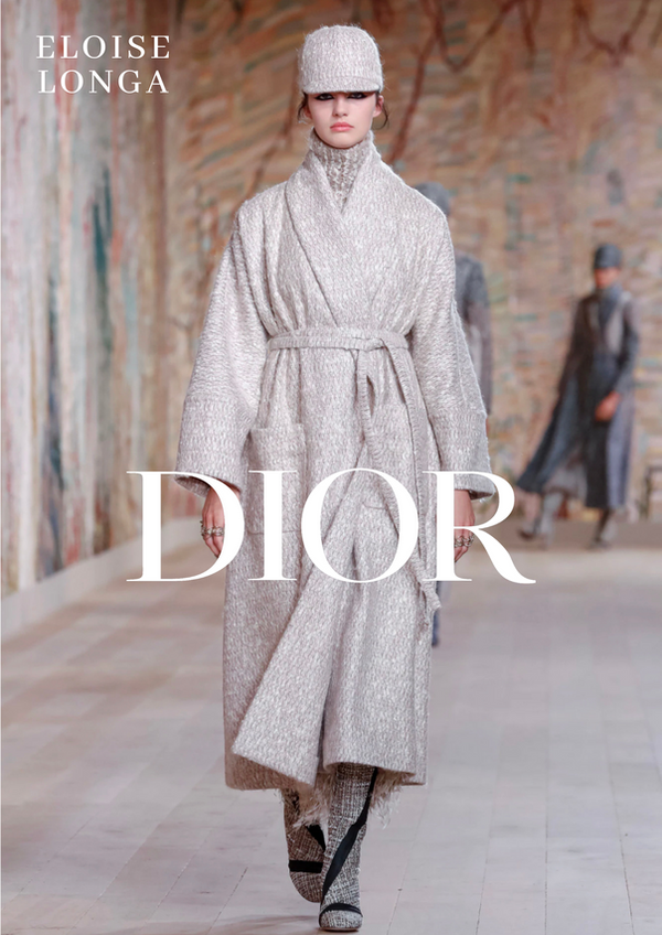 Eloïse Longa for DIOR Haute Couture 2022