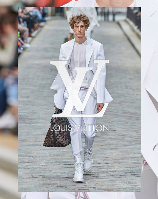 FELIX HAZARD FOR LOUIS VUITTON SS20