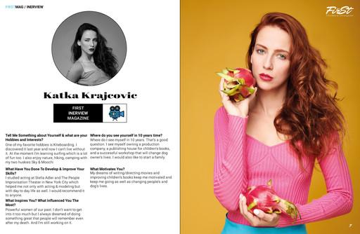 Katka Krajcovic Interview