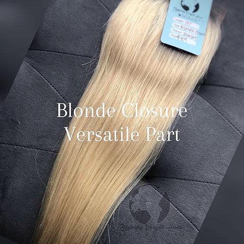613 Blonde Closures