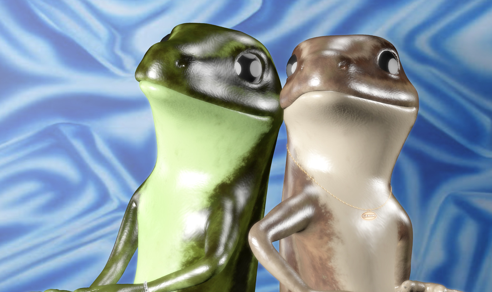 2 Lizards