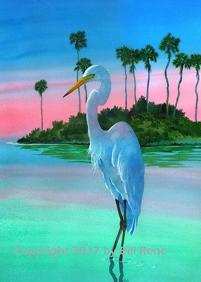 Egret Shoreline