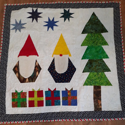 Gnome Winter Wall Hanging Class
