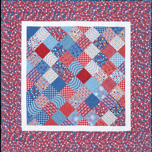 Charm Quilt on Point