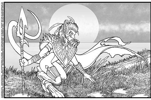 Digital FCP #12 Alien Huntress