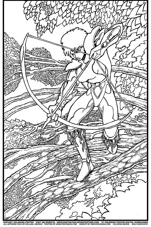 FCP #22 Archer in Trees