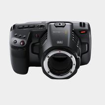 Câmera Blackmagic 6k