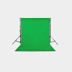 Suporte para chroma Key com tecido verde 3x4
