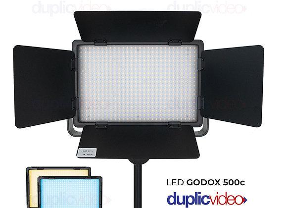 Iluminador Led Godox Light 500c - Com controle remoto