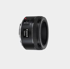 Lente Canon 50mm f:1.8