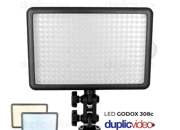 Iluminador Led Godox Light 308c - Com controle remoto