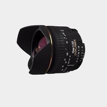 Lente Sigma 15mm f:2.8 Fisheye