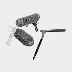 Kit microfone direcional