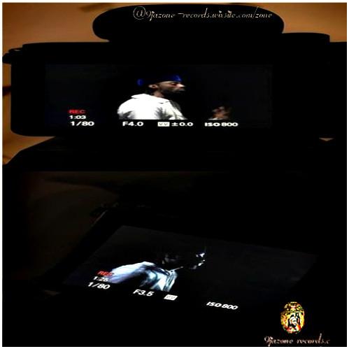 9JAZONE RECORDS ON SET OF IYAMI VID