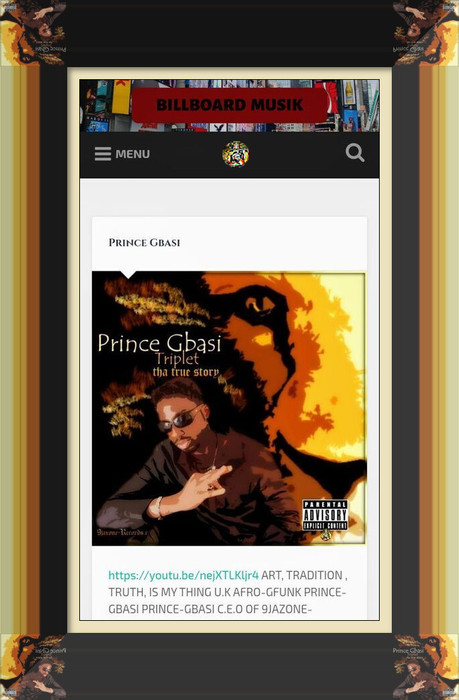 Prince-Gbasi's Interview With billboardmusik