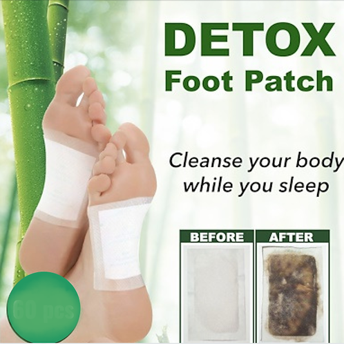 DETOX Easy Pack x 10 apply at night.  Cleanse More Energy