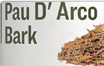 Organic Pau D' Arco Bark smoke . Surprised