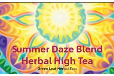 New Summer Daze Tea Natural with Guayusa strawberry, apple mint, hibiscus