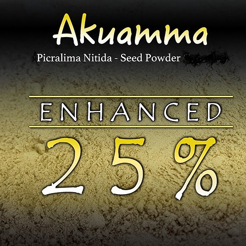 AKUAMMA  SEED POWDER SUPER STRENGTH 25.1 5ms -50gms KRATOM ALTERNATIVE