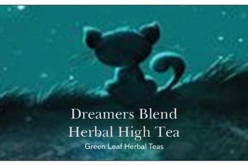 Organic Dreamers blend Hemp Tea Guayusa, sencha, hops, vervain