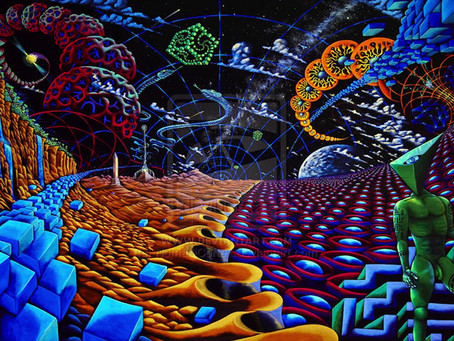 Why A DMT Trip is like entering an alternate reality