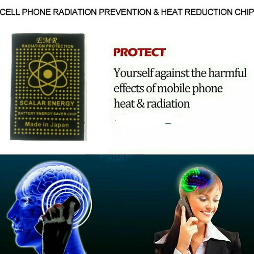 Mobile Phone Protection EMF Radiation *Powder Saver * Over Heating*Stickers