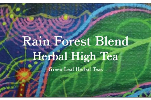 Organic Rainforest blend Hemp Tea  Guayusa,  lemongrass, tangerine, 20gm