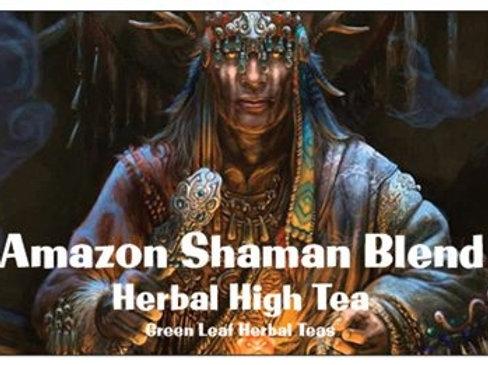 Amazon Shaman Tea 18 herbs from the Amazon. Hemp Guayusa 20gms