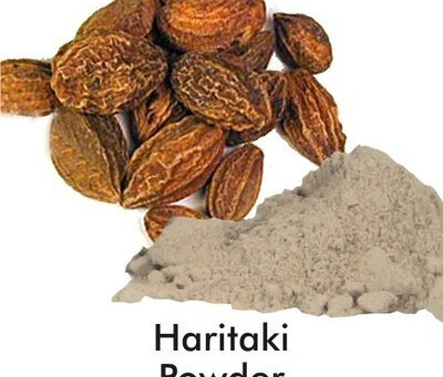 Organic Haritaki Powder.  The Awareness and Energy Herb of the 20th Century