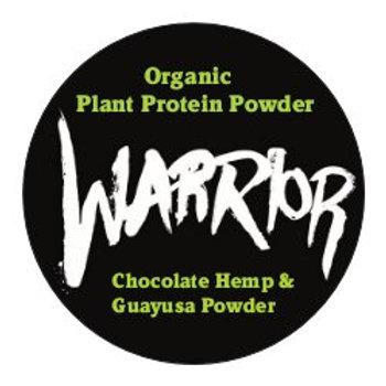 WARRIOR PLANT PROTEIN ENERGY POWDER CHOCOLATE HEMP PROTEIN + GUAYUSA 30gms