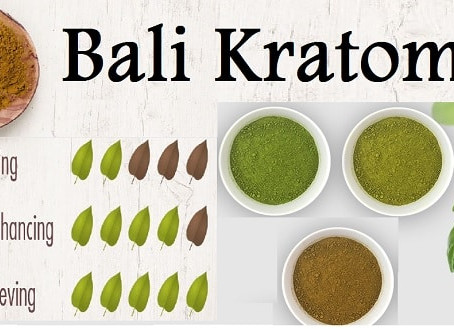 Bali Kratom for Euphoria Stress And Pain