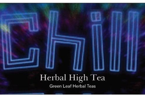 Organic Chill blend  HEMP Tea  Guayusa, sencha, hops, orange, cinnamon,