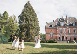 Majestic 19th century château in the South-west - recessional
