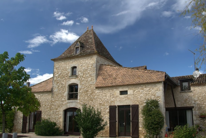 Rustic old converted farmhouse